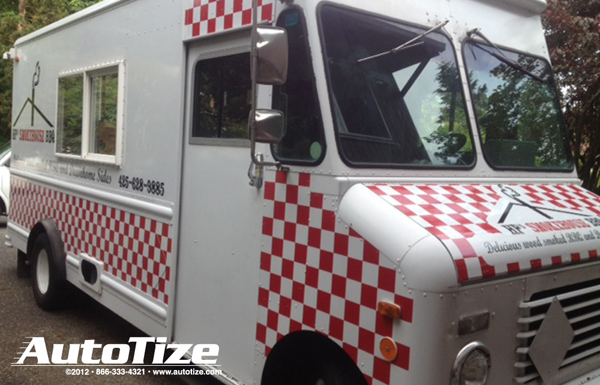 BBQ Food truck wrap from Autotize