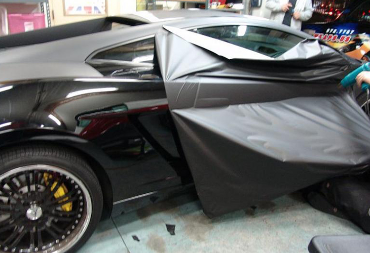 Removing Matte Wrap From Car