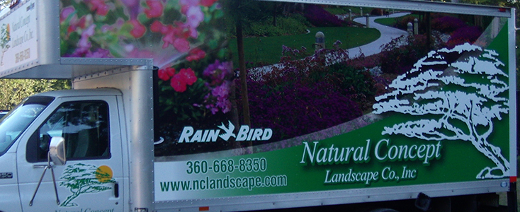 Economic Advertising - Natural Concept Landscaping