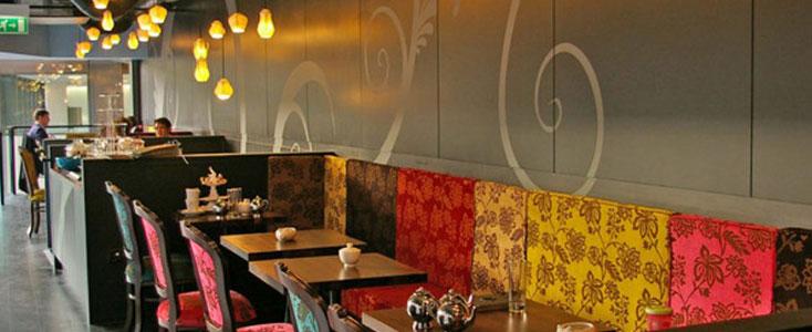 Restaurant Wall Graphic - Bloomsbury Restaurant