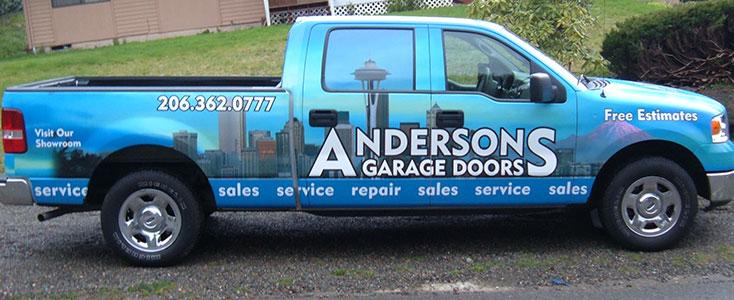 Not A Supplier - Andersons Garage Doors