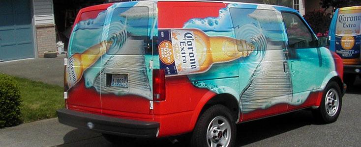 What Goes On The Trucks - Corona Van