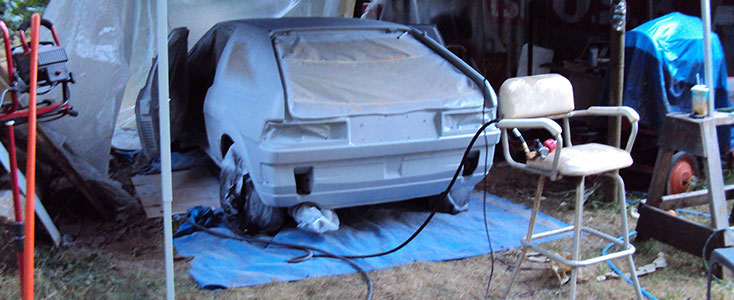 A Quality Problem Car Painting
