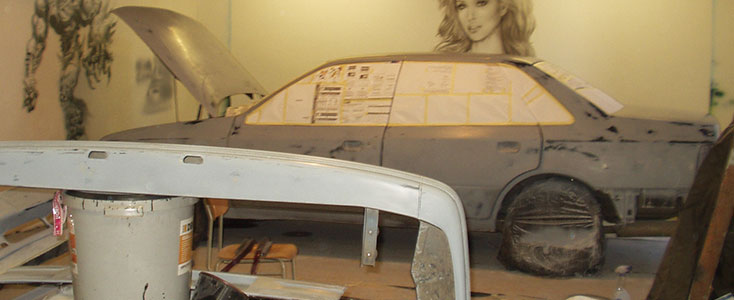 The Process of Painting a Car